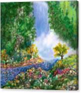 Fantasia Falls Canvas Print