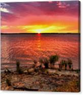 Fantastic Sky Colors Canvas Print