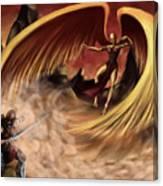 Fantasy Battle Canvas Print