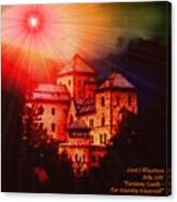 Fantasy Castle For Mandy Maxwell H A Canvas Print
