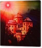 Fantasy Castle For Mandy Maxwell H B Canvas Print