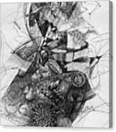 Fantasy Drawing 2 Canvas Print