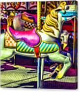 Fantasy Fair Horse Ride Canvas Print
