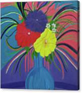 Pink And Purple Passion Canvas Print