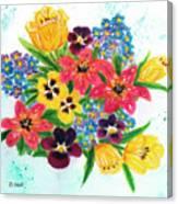 Fantasy Flowers #233 Canvas Print