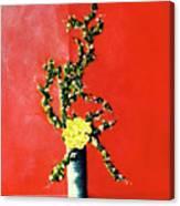 Fantasy Flowers Still Life #162 Canvas Print