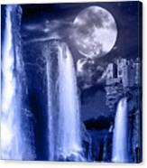 Fantasy Gorge Canvas Print