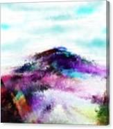 Fantasy Mountain Canvas Print