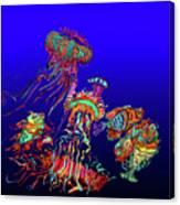 Fantasy Sea Life1 Canvas Print
