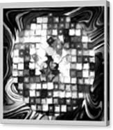 Fantasy Tiles Abstract Canvas Print