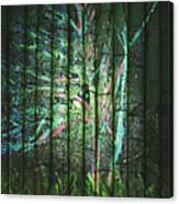 Fantasy Tree On Bamboo Canvas Print