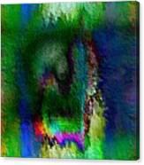 Farbige Phantasie Canvas Print