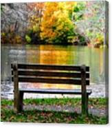 Farewell Autumn Canvas Print