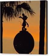 Farewell Mickey Canvas Print