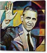 Farewell Obama V2 Canvas Print