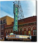 Fargo Theater Canvas Print