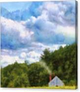 Farm - Barn - Home On The Range II  Canvas Print