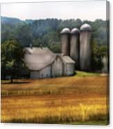 Farm - Barn - Home On The Range Canvas Print