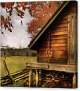 Farm - Barn - Shed Out Back Canvas Print