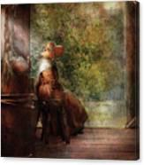 Farm - Farmer - Mother Canvas Print