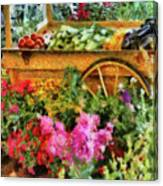 Farm - Food - At The Farmers Market Canvas Print