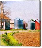 Farm Around The Corner Canvas Print
