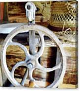 Farm Equipment Corn Sheller Canvas Print