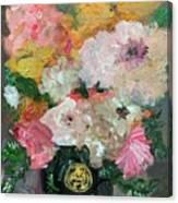 Farm Flowers Canvas Print
