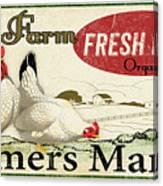 Farm Fresh Eggs-c Canvas Print