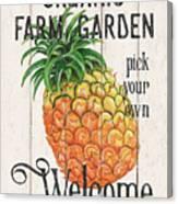 Farm Garden 1 Canvas Print