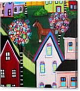 Farm Home Canvas Print