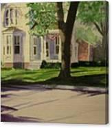 Farm House In The City Canvas Print