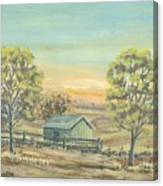 Farm In The Dell Canvas Print