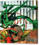 Farm Junk No8 Canvas Print