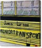 Farm Labor Bus Canvas Print