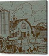 Farm Life-jp3236 Canvas Print