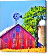 Farm Near Gettysburg Canvas Print