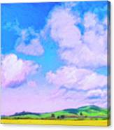 Farm Near San Luis Obispo Canvas Print