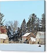Farm On Echo Avenue Canvas Print