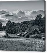 Farm On The Blue Ridge Canvas Print