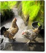 Farm Series # 51 Canvas Print