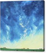 Sunrise In The South Canvas Print