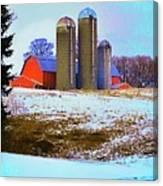 Farm Up Yander Canvas Print