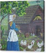 Farm Work I Canvas Print
