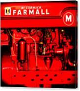 Farmall Engine Detail Canvas Print