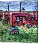 Farmall Graveyard Canvas Print