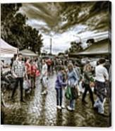 Farmer's Market 2 Canvas Print