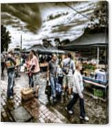 Farmer's Market 3 Canvas Print
