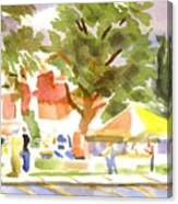 Farmers Market Ironton Missouri Canvas Print