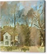 Farmhouse - Gordonsville Va Canvas Print